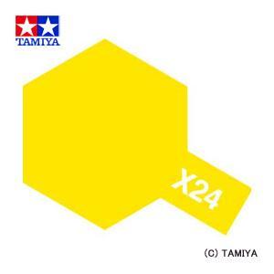 TAMIYA タミヤカラー エナメル(光沢) X-24 クリヤーイエロー|beautyfactory