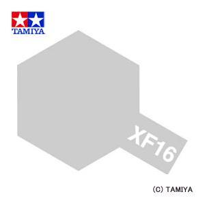 TAMIYA タミヤカラー エナメル(つや消し) XF-16 フラットアルミ|beautyfactory