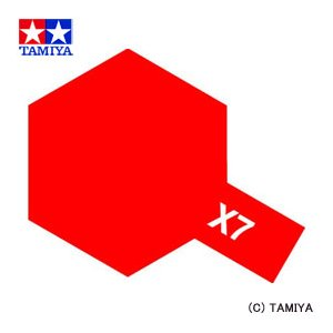 (最大500円OFFクーポン 1/31 23:00まで)TAMIYA タミヤカラー アクリルミニ(光沢) X-7 レッド|beautyfactory