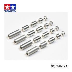 (最大500円OFFクーポン 1/31 23:00まで)タミヤ TAMIYA ミニ四駆グレードアップパーツ GP.473 アルミスペーサーセット (12/6.7/6/3/1.5mm)|beautyfactory