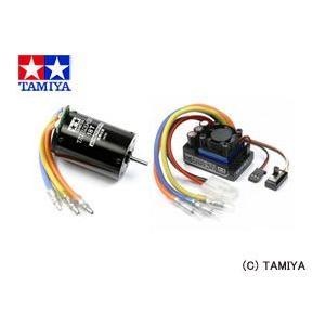 (最大500円OFFクーポン 9/30 23:00まで)TAMIYA タミヤRCシステム No.44 タミヤ ブラシレスモーター 01 18T・ESC 01 セット|beautyfactory