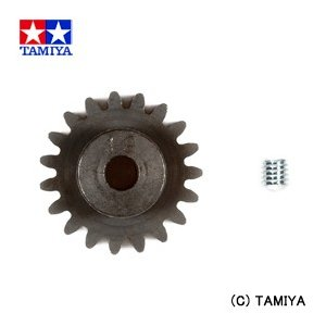 タミヤ TAMIYA OPパーツ OP.1629 08スチールピニオン (19T)|beautyfactory