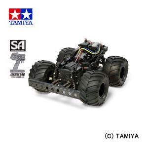 (最大500円OFFクーポン 9/30 23:00まで)タミヤ TAMIYA セミアッセンブルシリーズ No.05 電動RCカー 完成シャーシセット (WR-02シャーシ プロポ付)|beautyfactory