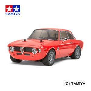(最大500円OFFクーポン 1/31 23:00まで)タミヤ TAMIYA 1/10 電動RCカー No.486 アルファロメオ ジュリア スプリント GTA (M-06シャーシ)|beautyfactory