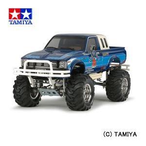 (最大500円OFFクーポン 11/30 23:00まで)タミヤ TAMIYA 1/10 電動RCカー No.519 トヨタ ハイラックス4WD ハイリフト(RN36)|beautyfactory