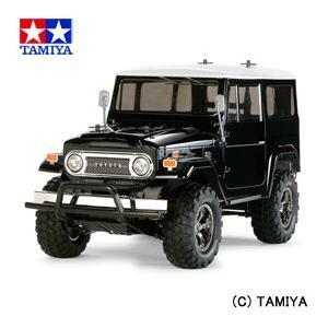 タミヤ TAMIYA 1/10 電動RCカー No.564 トヨタ ランドクルーザー40 ブラックスペシャル 塗装済みボディ (CC-01シャーシ)|beautyfactory