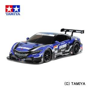 (最大500円OFFクーポン 11/30 23:00まで)タミヤ TAMIYA 1/10 電動RCカー No.599 RAYBRIG NSX CONCEPT-GT (TT-02シャーシ)|beautyfactory