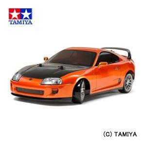 (最大500円OFFクーポン 9/30 23:00まで)タミヤ TAMIYA 1/10 電動RCカー No.613 トヨタ スープラ (TT-02Dシャーシ) ドリフトスペック|beautyfactory