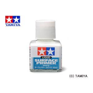 TAMIYA タミヤメイクアップ材 サーフェイサー (ホワイト・40mlビン入り)