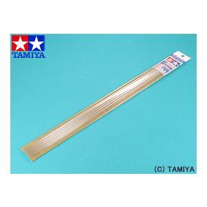 タミヤ TAMIYA 楽しい工作(素材) 透明プラ材 5mmパイプ (5本入)