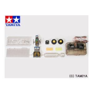 タミヤ TAMIYA 楽しい工作(素材) リモコンロボット製作セット (タイヤタイプ)