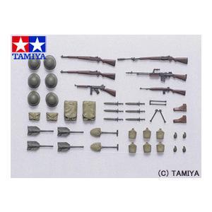 タミヤ TAMIYA 1/35 ミリタリーミニチュアシリーズ No.206 アメリカ歩兵 装備品セット U.S. Infantry Equipment Set|beautyfactory