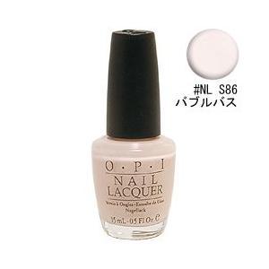オーピーアイ ネイル ラッカー (ソフトシェード) #NL S86 バブルバス 15ml O・P・I 化粧品 NAIL LACQUER NL S86 BUBBLE BATH|beautyfive