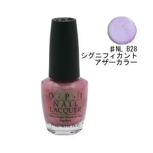 オーピーアイ ネイル ラッカー (ブライツ) #NL B28 シグニフィカント アザー カラー 15ml O・P・I 化粧品 NAIL LACQUER NL B28 SIGNIFICANT OTHER COLOR|beautyfive