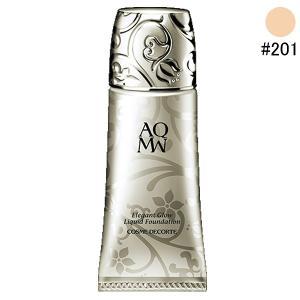 (500円OFFクーポン 9/30 23:00まで)コスメデコルテ AQ MW エレガントグロウ リキッドファンデーション #201 30ml COSME DECORTE 化粧品|beautyfive