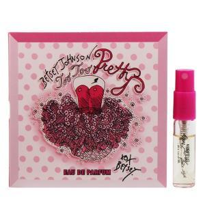 ベッツィ ジョンソン トゥートゥー プリティー (チューブサンプル) オーデパルファム スプレータイプ 2ml BETSEY JOHNSON 香水 TOO TOO PRETTY|beautyfive