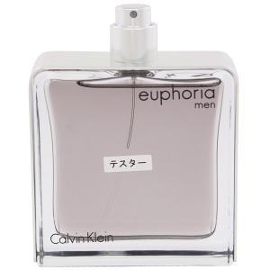 カルバンクライン ユーフォリア メン (テスター) オーデトワレ スプレータイプ 100ml CALVIN KLEIN (8%offクーポン 4/3 12:00〜4/20 1:00) 香水|beautyfive