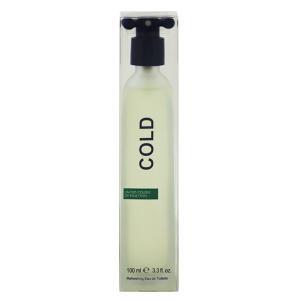ベネトン コールド オーデトワレ スプレータイプ (旧パッケージ) 100ml BENETTON (8%offクーポン 4/3 12:00〜4/20 1:00) 香水 COLD REFRESHING|beautyfive
