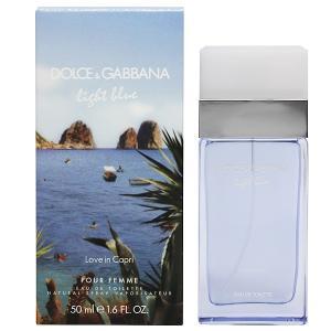 ドルチェ&ガッバーナ ライトブルー ラブ イン カプリ オーデトワレ スプレータイプ 50ml DOLCE&GABBANA 香水 LIGHT BLUE LOVE IN CAPRI|beautyfive