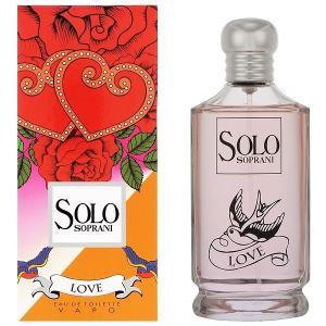 ルチアーノソプラーニ ソロ ラブ オーデトワレ スプレータイプ 100ml LUCIANO SOPRANI 香水 SOLO SOPRANI LOVE|beautyfive