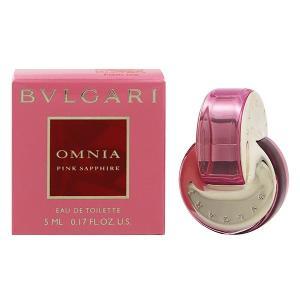 ブルガリ オムニア ピンク サファイヤ ミニ香水 オーデトワレ ボトルタイプ 5ml BVLGARI 香水 OMNIA PINK SAPPHIRE BOTTLE|beautyfive