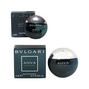 ブルガリ アクア プールオム ミニ香水 オーデトワレ ボトルタイプ 5ml BVLGARI 香水 AQVA POUR HOMME|beautyfive