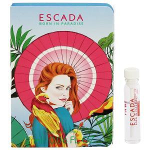 エスカーダ ボーン イン パラダイス (チューブサンプル) オーデトワレ ボトルタイプ 2ml ESCADA 香水 BORN IN PARADISE|beautyfive