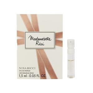 ニナリッチ マドモアゼル リッチー (チューブサンプル) オーデパルファム スプレータイプ 1.5ml NINA RICCI 香水 MADEMOISELLE RICCI EAU DE PARUFUM beautyfive