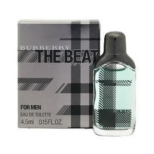 バーバリー ザ ビート フォーメン ミニ香水 (箱なし) オーデトワレ ボトルタイプ 4.5ml BURBERRY 香水 THE BEAT FOR MEN beautyfive