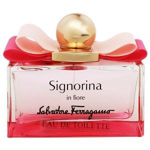 フェラガモ シニョリーナ イン フィオーレ (テスター) オーデトワレ スプレータイプ 100ml SALVATORE FERRAGAMO 香水 SIGNORINA IN FIORE|beautyfive