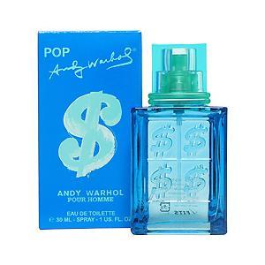 アンディ ウォーホル ポップ ドルサイン オーデトワレ スプレータイプ 30ml ANDY WARHOL 香水 POP $ POUR HOMME|beautyfive