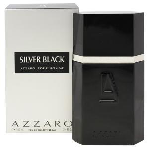 アザロ シルバーブラック プールオム オーデトワレ スプレータイプ 100ml AZZARO (8%offクーポン 4/3 12:00〜4/20 1:00) 香水 SILVER BLACK POUR HOMME|beautyfive