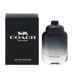 コーチ マン ミニ香水 オーデトワレ ボトルタイプ 4.5ml COACH 香水 COACH FOR MEN beautyfive
