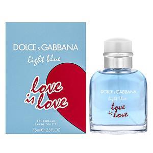 ドルチェ&ガッバーナ ライトブルー ラブイズラブ プールオム オーデトワレ スプレータイプ 75ml DOLCE&GABBANA 香水 LIGHT BLUE LOVE IS LOVE POUR HOMME|beautyfive