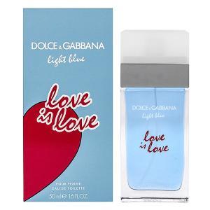 ドルチェ&ガッバーナ ライトブルー ラブイズラブ オーデトワレ スプレータイプ 50ml DOLCE&GABBANA 香水 LIGHT BLUE LOVE IS LOVE|beautyfive