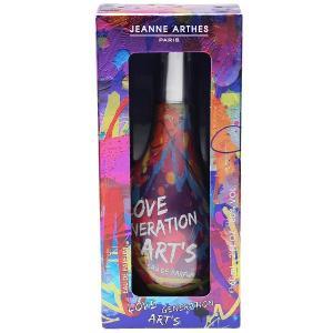 ジャンヌアルテス ラブ ジェネレーション アーツ (ウィンドウボックス) オーデパルファム スプレータイプ 60ml JEANNE ARTHES 香水 LOVE GENERATION ART'S|beautyfive