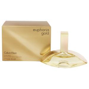 カルバンクライン ユーフォリア ゴールド オーデパルファム スプレータイプ 50ml CALVIN KLEIN (8%offクーポン 4/3 12:00〜4/20 1:00) 香水 EUPHORIA GOLD|beautyfive