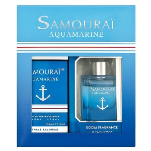 アランドロン サムライ アクアマリン コフレセット 19A 50ml/60ml ALAIN DELON 香水|beautyfive