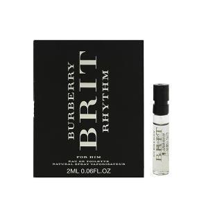 バーバリー ブリット リズム (チューブサンプル) オーデトワレ スプレータイプ 2ml BURBERRY 香水 BRIT RHYTHM FOR HIM beautyfive