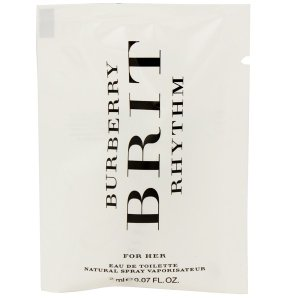 バーバリー ブリット リズム フォーハー (チューブサンプル) オーデトワレ スプレータイプ 2ml BURBERRY 香水 BRIT RHYTHM FOR HER beautyfive