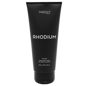 ヤードレー ロンドン ロジウム ヘア&ボディウォッシュ 200ml YARDLEY LONDON RHODIUM FOR MEN HAIR&BODY WASH|beautyfive