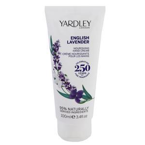 ヤードレー ロンドン イングリッシュ ラベンダー ナリッシング ハンドクリーム 100ml YARDLEY LONDON 香水 ENGLISH LAVENDER NOURISHING HAND CREAM|beautyfive