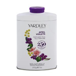 ヤードレー ロンドン エイプリル ヴァイオレット パヒュームド タルク 200g YARDLEY LONDON APRIL VIOLETS PERFUMED TALC|beautyfive