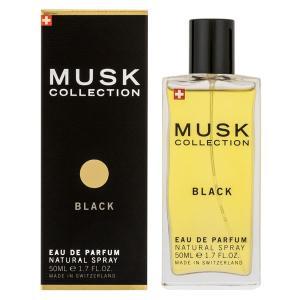 ムスク コレクション オーデパルファム スプレータイプ 50ml MUSK COLLECTION 香水 MUSK COLLECTION BLACK|beautyfive