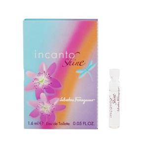 フェラガモ インカント シャイン (チューブサンプル) オーデトワレ ボトルタイプ 1.6ml SALVATORE FERRAGAMO 香水 INCANTO SHINE beautyfive