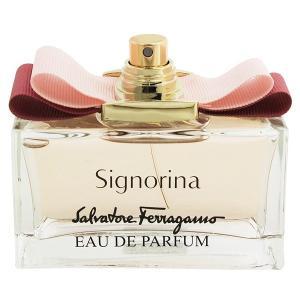 フェラガモ シニョリーナ (テスター) オーデパルファム スプレータイプ 100ml SALVATORE FERRAGAMO (8%offクーポン 4/3 12:00〜4/20 1:00) 香水|beautyfive