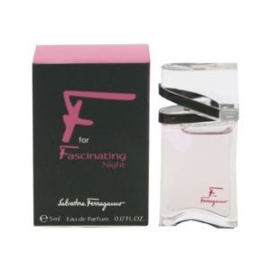 フェラガモ エフ フォー ファシネイティング ナイト ミニ香水 オーデパルファム ボトルタイプ 5ml SALVATORE FERRAGAMO 香水 F FOR FASCINATING NIGHT|beautyfive