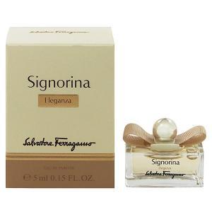 フェラガモ シニョリーナ エレガンツァ ミニ香水 オーデパルファム ボトルタイプ 5ml SALVATORE FERRAGAMO (8%offクーポン 4/3 12:00〜4/20 1:00) 香水|beautyfive