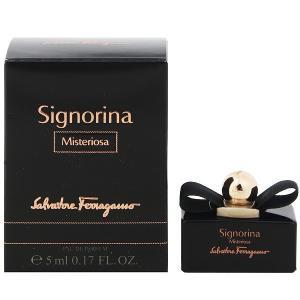 フェラガモ シニョリーナ ミステリオーサ ミニ香水 オーデパルファム ボトルタイプ 5ml SALVATORE FERRAGAMO 香水 SIGNORINA MISTERIOSA beautyfive