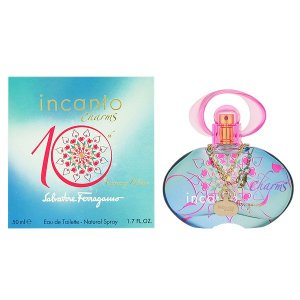 フェラガモ インカント チャーム 10th アニバーサリーエディション オーデトワレ スプレータイプ 50ml SALVATORE FERRAGAMO 香水|beautyfive